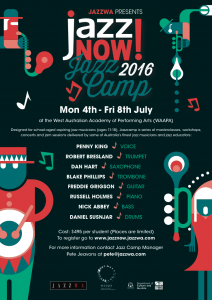 Jazzcamp 2016 Poster